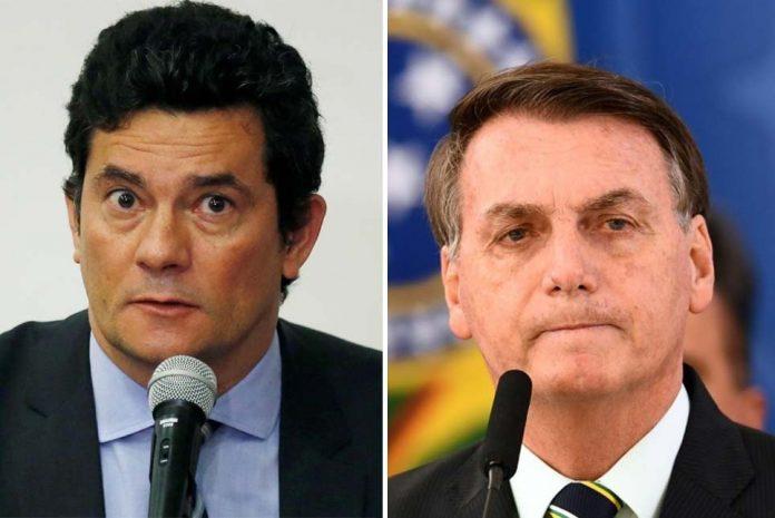 Moro foi chamado atenção por Bolsonaro: