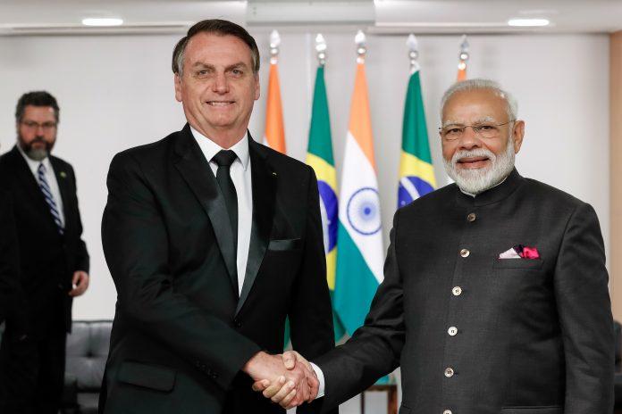 Bolsonaro pede agilidade da Índia no envio da vacina AstraZeneca ao Brasil