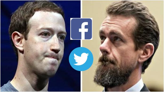 Facebook e Twitter têm desvalorização de R$ 270 bilhões após banimento de Trump